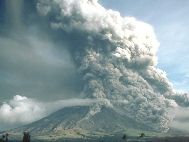 Pyroclastic Flows May Spread Swift Death on a Cushion of Air