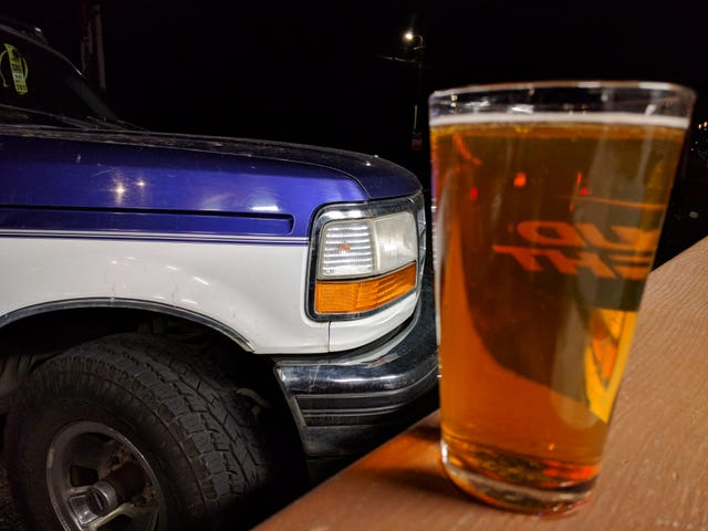 A beer and a Ferd