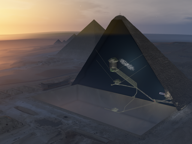 Stunned Scientists Detect Suspected Hidden Chamber Within Great Pyramid of Giza