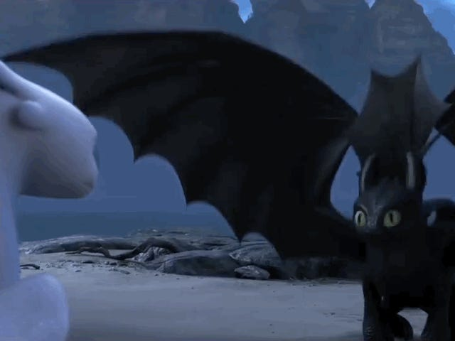 The<i> How To Train Your Dragon 3</i> Trailer Gives Us a Bearded Hiccup and a Dragon Mating Dance