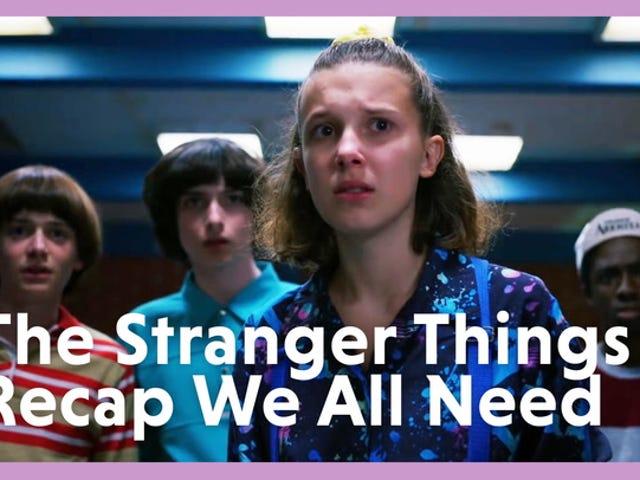 Tudo que você precisa lembrar de coisas estranhas 1 e 2