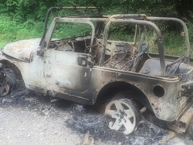 Jeep Wrangler Rubicon Burned To The Ground By Independence Day Fireworks