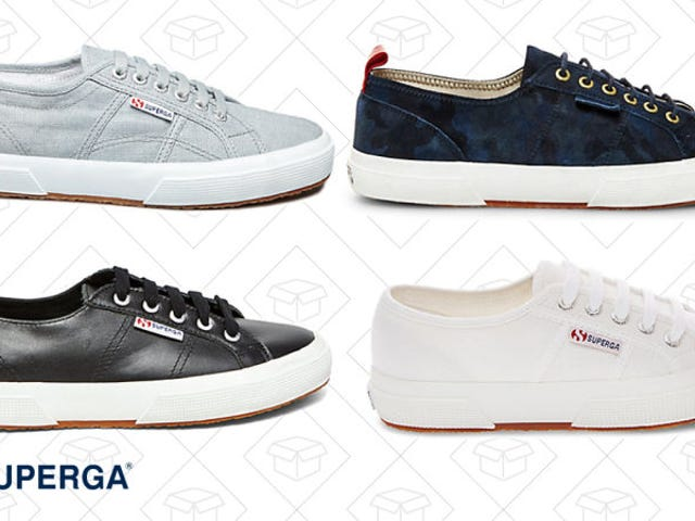 Get the Basic Sneakers You've Been Needing with 20% Off and Free Shipping From Superga