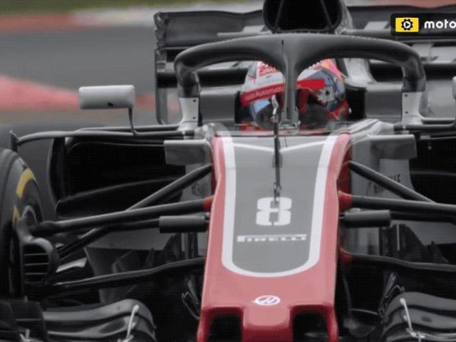 Te guste o no su diseño, la nueva cabina cerrada de los monoplaza de Fórmula 1 y Fórmula 2 ya salvó una vida
