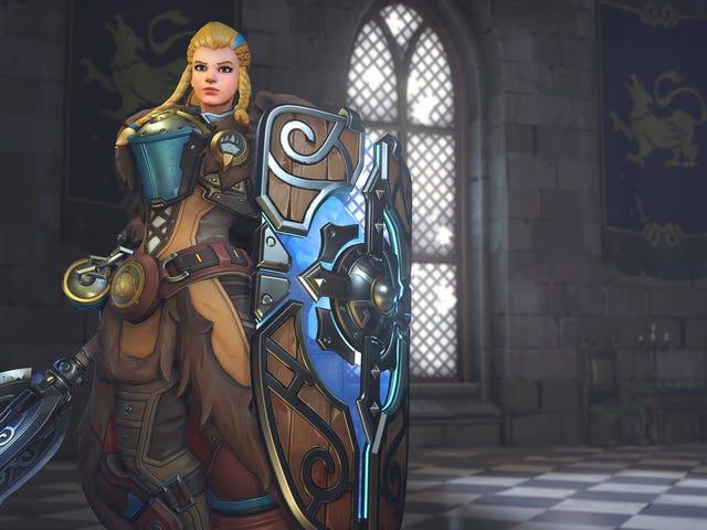 Cosplayer Overwatch's Brigitte İçin Çarpıcı Kalkanı Yapılandı