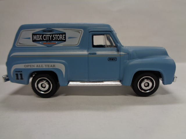 FORD FRIDAY...FORD F100 PANEL VAN
