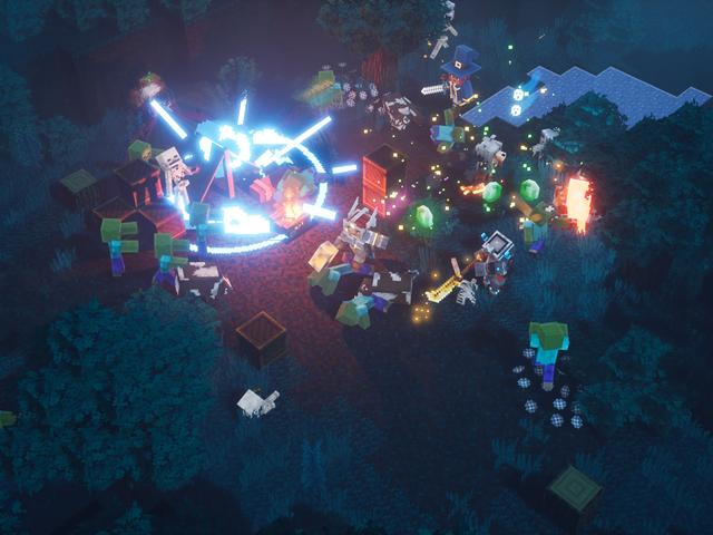 Minecraft Dungeons has no Minecraft-style building