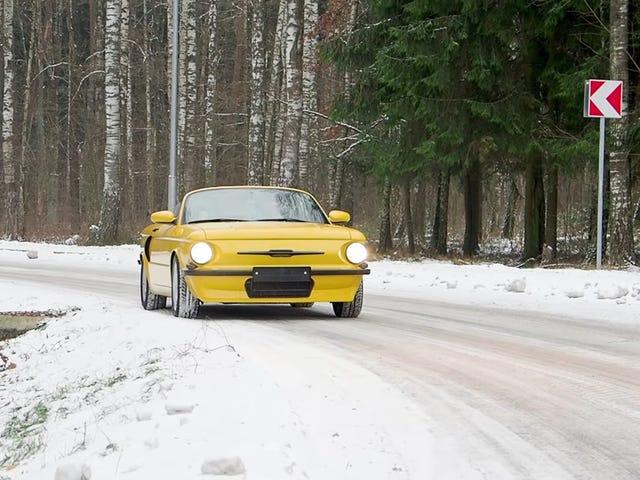 A Custom Shop In Belarus Built This Porsche Boxster With ZAZ Bodywork