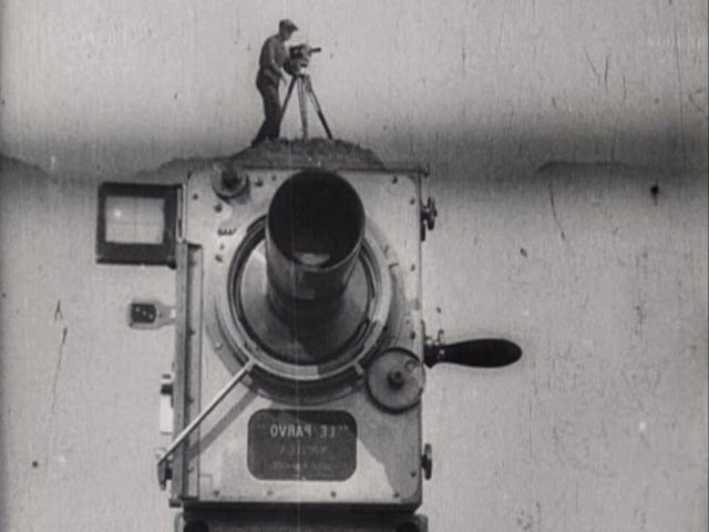 Silent Saturday: Man With a Movie Camera (1929)