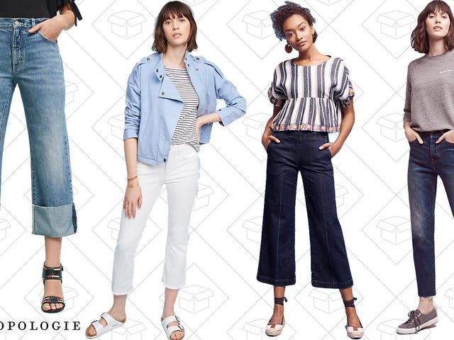 Get Your Denim Fix with 20% off All Jeans at Anthropologie