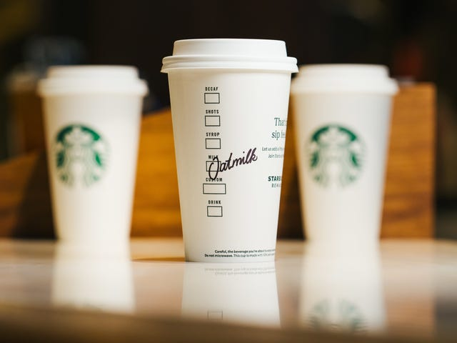 Como todos se están volviendo veganos, ¿por qué no Starbucks?