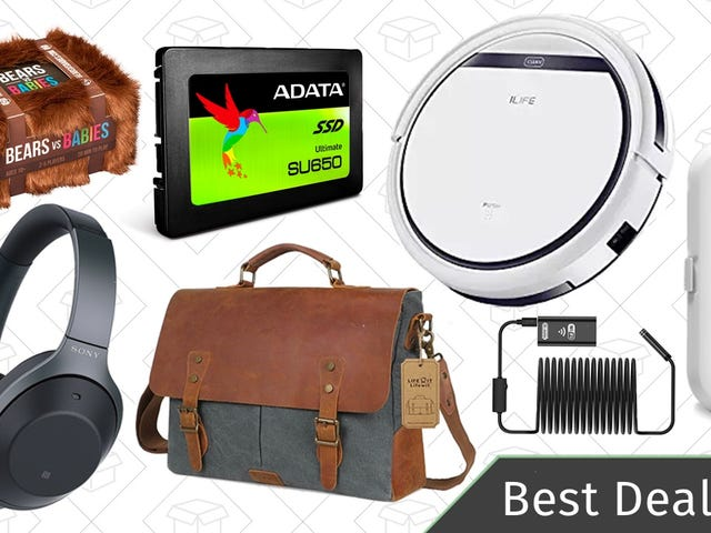 Sunday's Best Deals: Noise-Canceling Headphones, Robotic Vacuum, Sonicare Toothbrush, and More