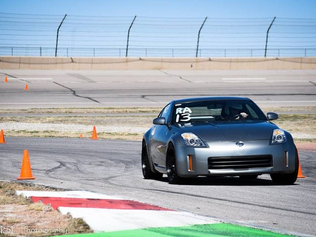 Drove in my first racing type event 4/3