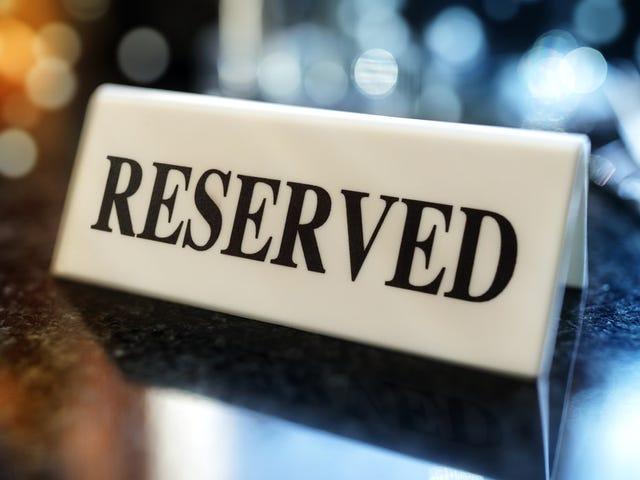 ¿Cuál es la reserva de restaurante más difícil en los Estados Unidos en este momento?