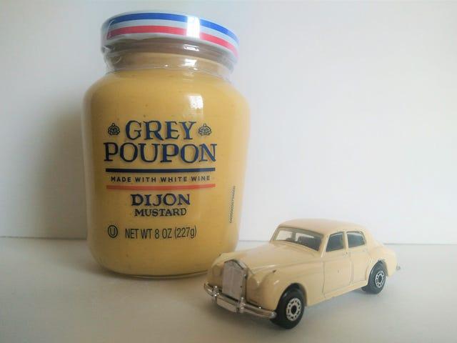 Grey Poupon Dijon Mustard ..