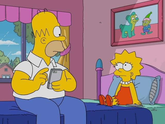 The Simpsons is putting Simpsons memes in Simpsons episodes now