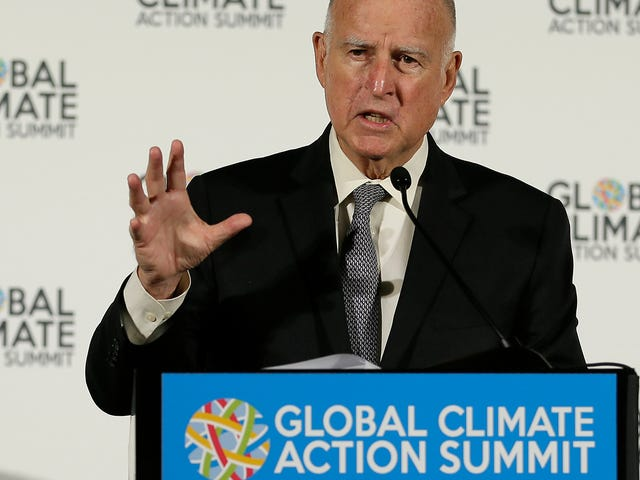 California Governor Jerry Brown Says State Will Launch Its Own Pollution Monitoring Satellite