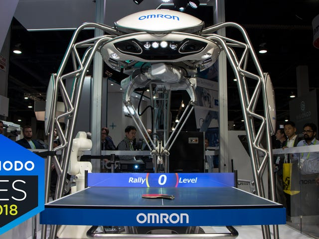 What It's Like to Play Ping-Pong With a Robot