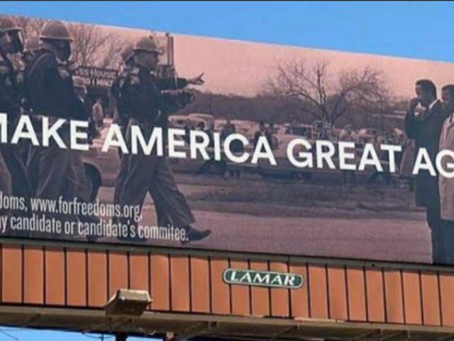 'Làm cho nước Mỹ vĩ đại trở lại' Billboard Sparks tranh cãi ở Hoa hậu.
