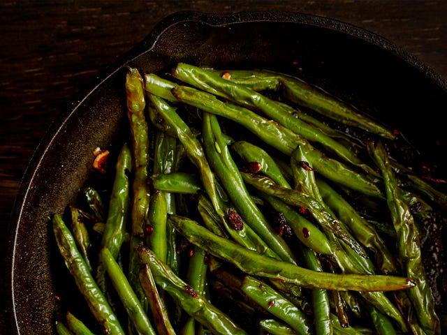 Wie man grüne Bohnen wirklich gut schmeckt