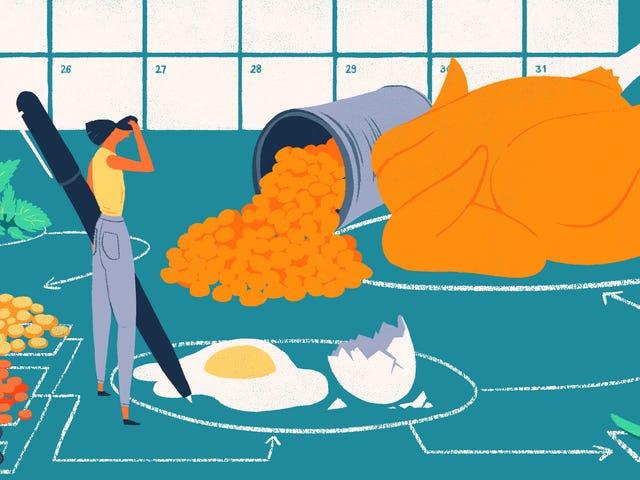 Que faire lorsque la planification des repas ne semble jamais fonctionner pour vous?