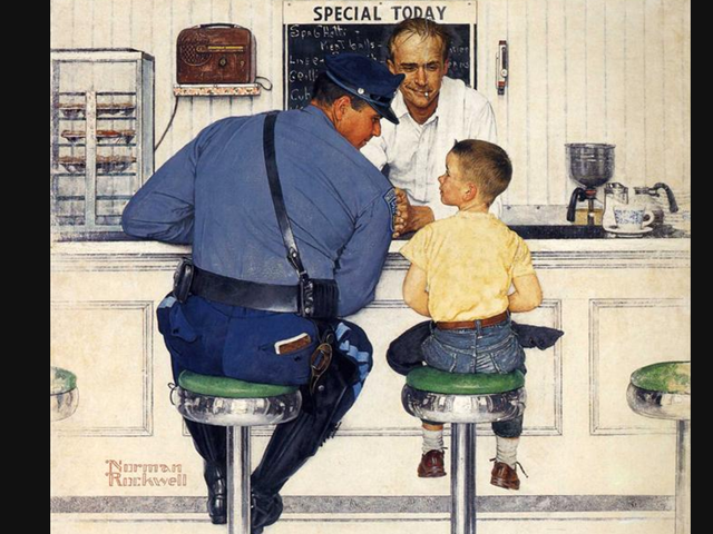 Mad Magazine Remixes a Norman Rockwell Painting for the Age of Trump