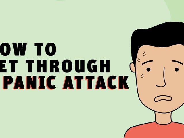 Sådan kommer du igennem et panikanfald