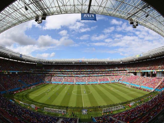 Why Your World Cup Stadium Sucks: Arena Pernambuco, Recife