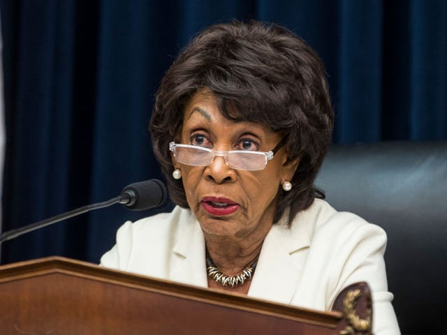 Maxine 'Reclaiming My Time' Waters Still Has No Time for Treasury Secretary Steve Mnuchin's Shit
