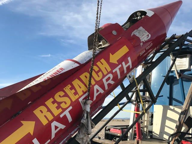 Rebuffed Flat Earth Rocketeer: Bu kez 500 Mph'de Gökyüzüne Asla Başlayacak