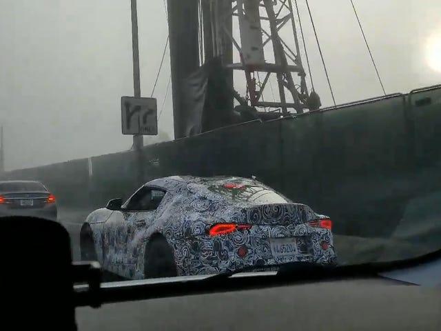 Dit zou de nieuwe BMW Supra kunnen zijn, maar het heeft absoluut coole achterlichten