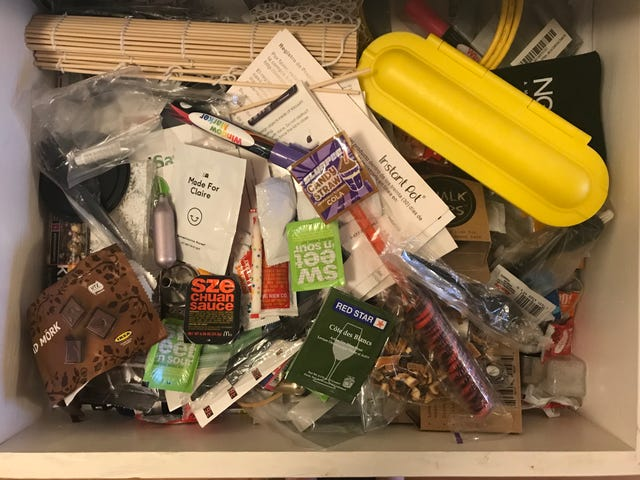 Dump Your Nasty Junk Drawer in the Garbage