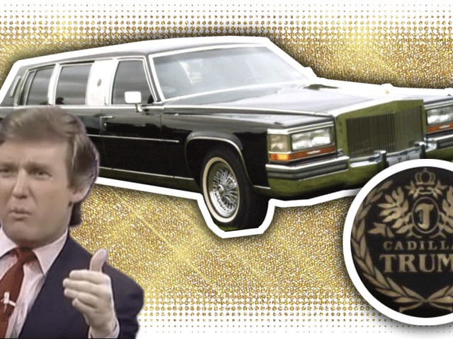How Donald Trump Got Cadillac To Build Him The Most Opulent Limo Ever