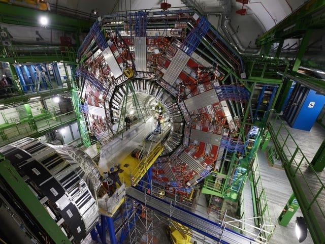 Regardez une grande expérience de collisionneur de hadrons obtenir une mise à niveau majeure