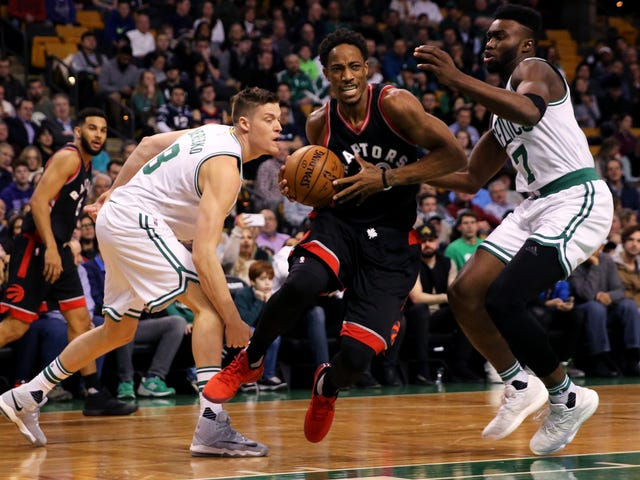 DeMar DeRozan Takes All The Hard, Bad Shots And It Is Glorious
