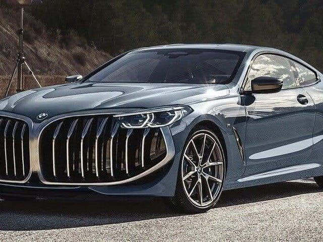 2019 BMW 8 and X7 series leaked photos