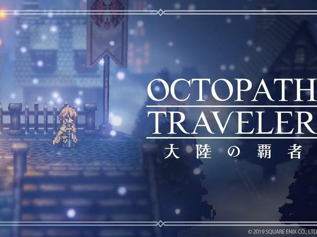 Octopath Traveler otrzymuje prequel dla smartfonów o nazwie Octopath Traveler: Tairiku no Haisha (