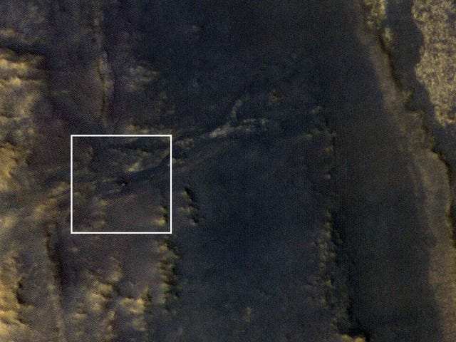 As Dust Clears, NASA Spots Possibly Dead Opportunity Rover From Space