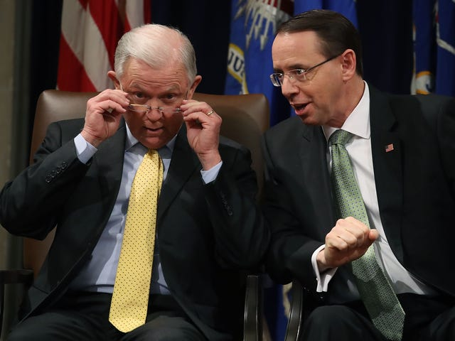 Did Trump Nickname Jeff Sessions 'Mr. Magoo' and Rod Rosenstein 'Mr. Peepers'? An Analysis Proves He Did