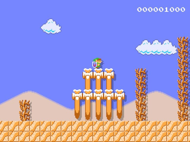 Mario Maker's New Update Is The Closest Thing To Zelda II Maker We'll Ever Get