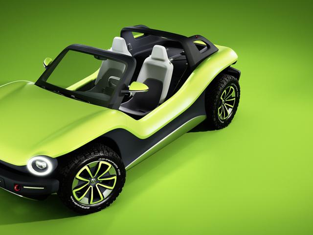 Her er Volkswagen's All-Electric Dune Buggy, og det er mere som en old-school buggy, end du ville tro