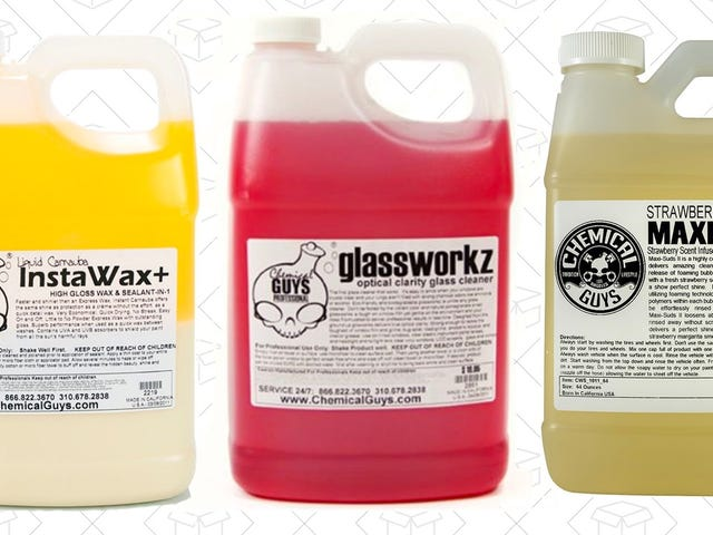 Make Your Car Look Brand New With 30% Off Chemical Guys