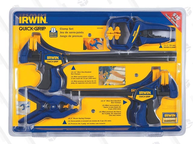 Get a Grip On This $27 Set of Irwin Clamps
