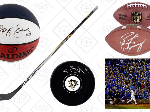 Find The Ultimate Father's Day Gift In This One- Day Sports Memorabilia Sale