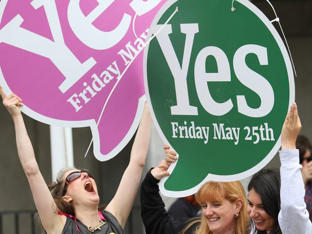 Don't Look Now, But Legal Abortion in Ireland Faces Little Backlash