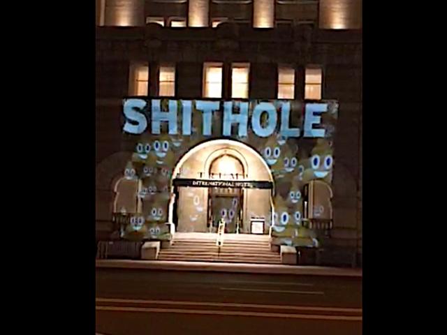特朗普的DC酒店用新名称:Shithole