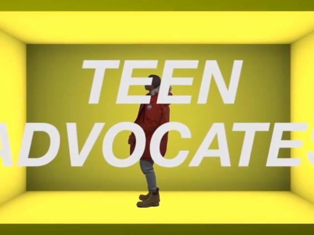 'Hotline Bling'에 대한 성 건강에 관한 십대들의 비디오가 너무 많습니다.