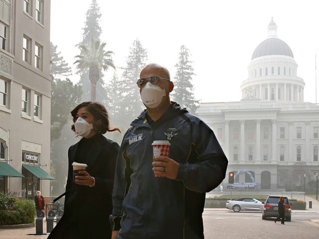 California Has the Most Toxic Air on the Planet Thanks to Wildfires