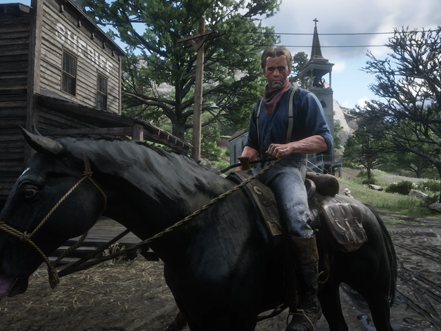 <i>Red Dead Redemption 2</i>'s Puppet-Like NPCs Clash With Its Meticulous World