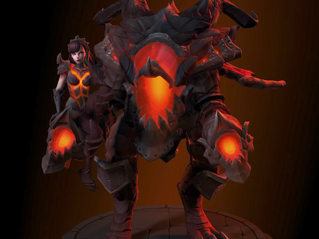 Fans Love D.va's Deathwing-Themed Skin For Heroes Of The Storm